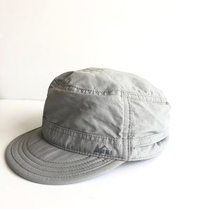 REI Hiking Sun Hat with Neck Cover - Youth - Gray